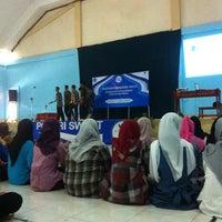 Photo taken at SMA Negeri 5 Makassar by Gita on 8/3/2012