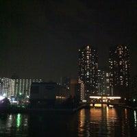 Photo taken at 鴎橋 by Tadashi K. on 7/25/2012