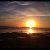 Photo taken at Playa Guiones by Kate F. on 3/18/2012
