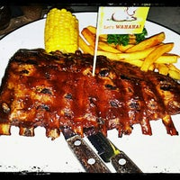 Photo taken at WAHAHA Pork Ribs by Laudaphina M. on 9/6/2012