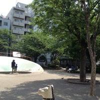 Photo taken at 両国公園 by Takayuki U. on 5/20/2012