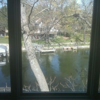 Photo taken at steiner homestead on the lake by Nate S. on 4/8/2012