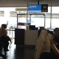 Photo taken at Gates B by Filippo M. on 5/1/2012