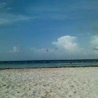 Photo taken at Playa Langosta by Amneris C. on 7/22/2012