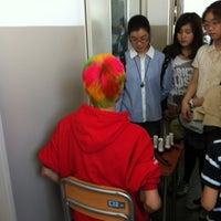 Photo taken at 麻布学園 麻布中学校・高等学校 by Yozo O. on 4/29/2012