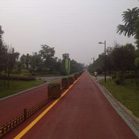 Photo taken at 锦江体育公园 Jinjiang Sports Park by 蔡 克. on 8/25/2012