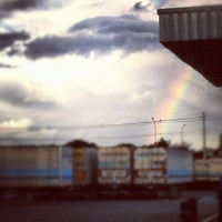 Photo taken at Costeira Transportes by Hugo S. on 5/29/2012