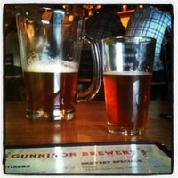 Photo taken at Gunnison Brewery by Paul G. on 5/4/2012
