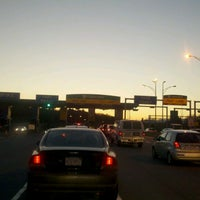 Photo taken at I-90 Weston Toll Plaza (Exit 15) by Chris R. on 2/17/2012