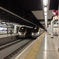 Photo taken at Gautrain Park Station by Howard H. on 6/9/2012