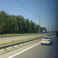 Photo taken at М-2 Симферопольское шоссе by Дмитрий А. on 7/8/2012
