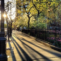 Photo taken at Abingdon Square Park by James B. on 4/13/2012
