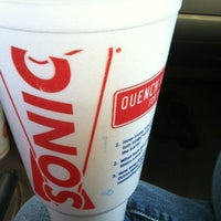 Photo taken at SONIC Drive In by Jessica A. on 4/24/2012