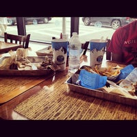 Photo taken at Elevation Burger by James M R. on 5/27/2012