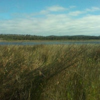 Photo taken at Dee Why Lagoon by Bruna B. on 6/5/2012
