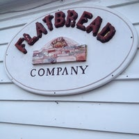 Photo taken at Flatbread Pizza Company by Jay B. on 4/21/2012