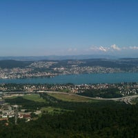 Photo taken at Uetliberg Aussichtsturm by Claudia A. on 8/1/2012