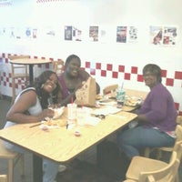 Photo taken at Five Guys by Eric M. on 8/30/2012