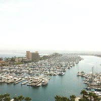 Photo taken at Sheraton San Diego Hotel & Marina by John C. on 7/12/2012