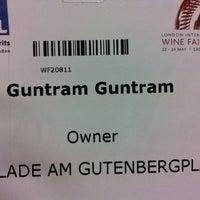 Photo taken at Bibendum@LIWF by Guntram F. on 5/22/2012