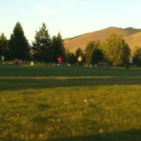 Photo taken at Larchmont Golf Course by Shannon T. on 6/28/2012