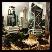 Photo taken at Mandarin Oriental, Hong Kong 香港文華東方酒店 by Suresh B. on 9/6/2012