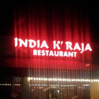 Photo taken at INDIA K' RAJA Restaurant by Kass N. on 8/29/2012