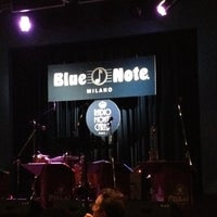 Photo taken at Blue Note by Andre V. on 3/14/2012