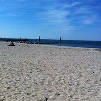 Photo taken at Cedar Beach by det f. on 5/12/2012