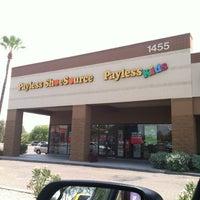 Photo taken at Payless ShoeSource by Karen D. on 7/10/2012