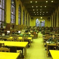 Photo taken at Deering Library by Demetri A. on 2/15/2012