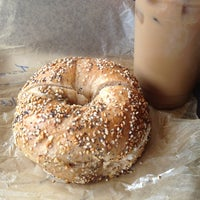 Photo taken at Brooklyn Bagel & Coffee Company by Kristin M. on 5/27/2012