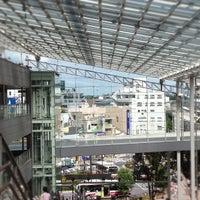 Photo taken at 経堂コルティ 屋上庭園 by Maiko K. on 8/12/2012