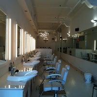 Photo taken at Asanda Aveda Spa Lounge by Dani B. on 4/28/2012