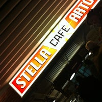 Photo taken at Stella Artois Café by Kristof v. on 4/6/2012