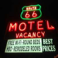Photo taken at Route 66 Motel by Jair M. on 4/18/2012