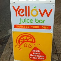 Photo taken at Yellow - A Juice Bar by Marie Gooddayphoto W. on 7/28/2012