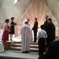 Photo taken at St. Francis of Assisi Catholic Church by Crystal K. on 2/12/2012