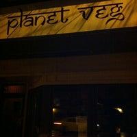 Photo taken at Planet Veg by Tim L. on 3/10/2012