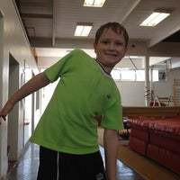 Photo taken at St Thomas-Elgin Gymnastics Club by Carrie H. on 3/17/2012