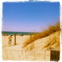 Foto tomada en Playa de Islantilla por @ladelaoctava el 7/7/2012