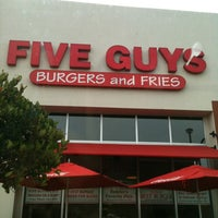 Photo taken at Five Guys by Joel C. on 7/2/2012