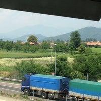 Photo taken at Area di Servizio Sebino Sud by Hanan M. on 6/19/2012