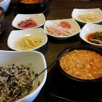 Photo taken at 맛있는 순두부&김치찜 경성대점 by Nadine A. on 6/23/2012
