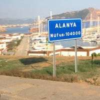 Photo taken at Alanya by Ahu K. on 7/13/2012