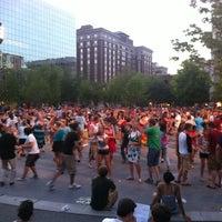 Photo taken at Rosa Parks Circle by Ken O. on 6/20/2012