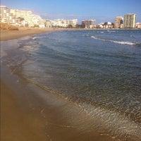 Photo taken at Playa De La Concha by Emili S. on 2/19/2012