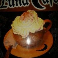 Photo taken at Luna Café by Lilianixa F. on 9/1/2012