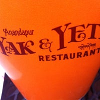 Photo taken at Yak & Yeti Anandapur Local Foods Cafe by Cam on 3/13/2012