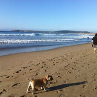 Photo taken at Playa de Salinas / San Juan de Nieva by Nacho G. on 5/23/2012